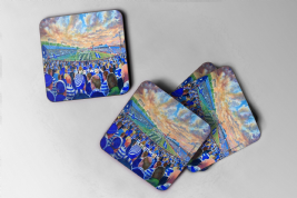 cappielow Coaster set of four